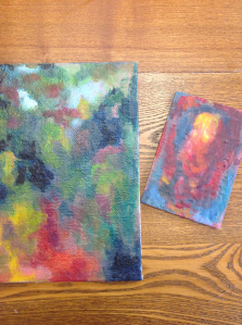 Creative Art Night for Adults! Easy Encaustic Painting  Saturday, November 1st from 7-9 PM