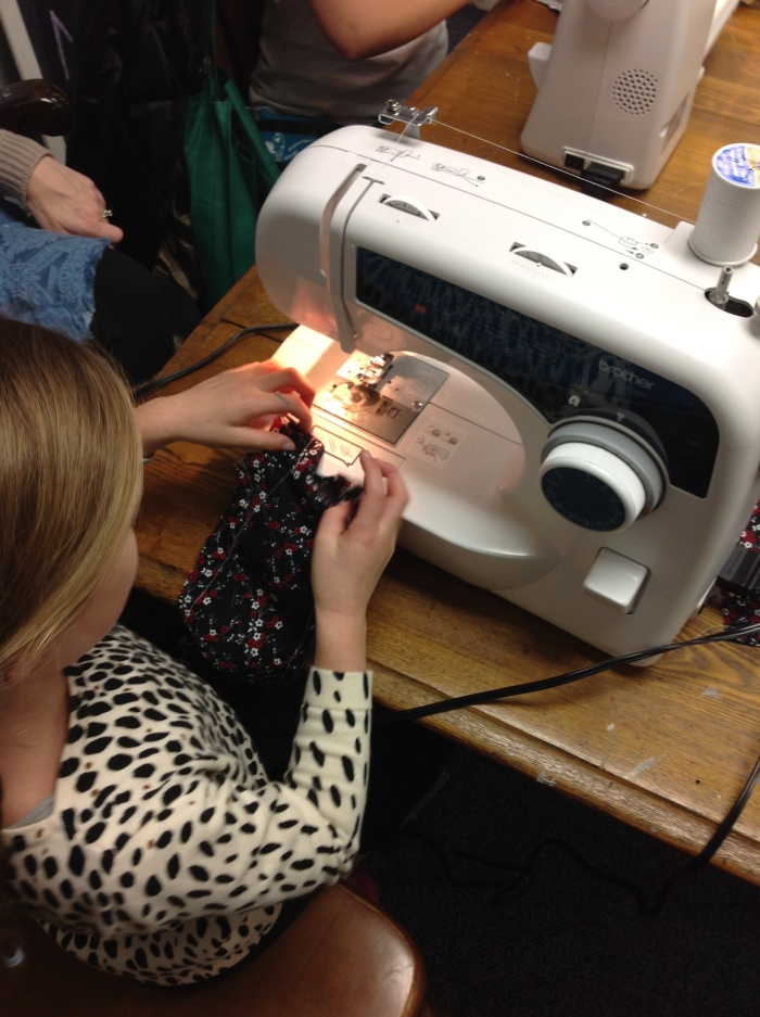 Machine Sewing Class  Tuesdays: from 4:30 to 5:15 PM  January 6, 13, 20th and 27th    Learn all about sewing with your machine and a little hand sewing! Create fun projects! Make pj pants and much more!!!! Bring your machine and your manual and any fabric you would love to use!  $65 plus $10 supply fee (Covers thread and fabric for practice! Please bring cozy flannel, fleece or cotton and elastic for your waistband)