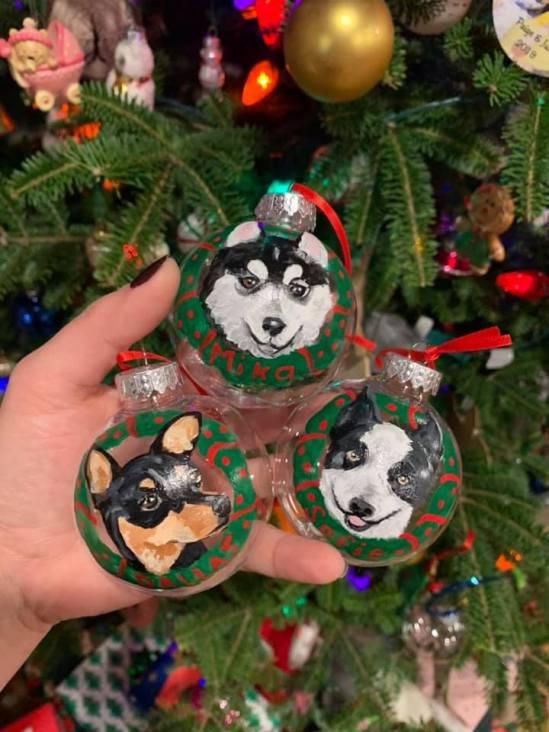 Custom Pet Ornament